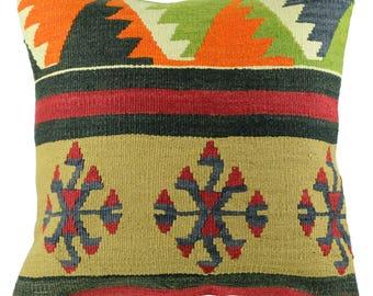 Cushion Kilim ethnic Oriental Vintage A031