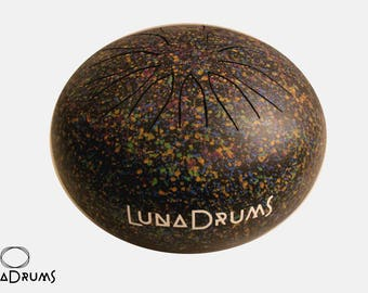 LunaDrum CUSTOM - Best steel tongue drum in the UK! Perfect harmony and beautiful finish! hank, tank, steel tongue drum, hand pan