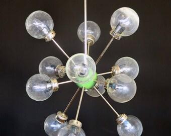 Italian space age vintage sputnik chandelier – mid century design