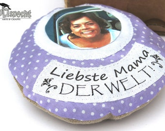 Aromatic Pillow, lavender, personalized Mother's Day gift, small present Mum, country-style, lavender-pendant, lavender-points, kultspecht