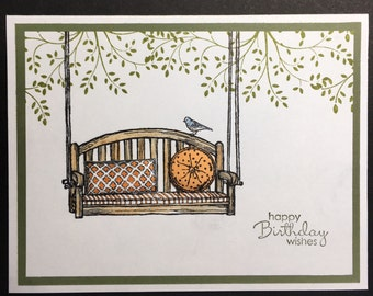 Porch swing Card