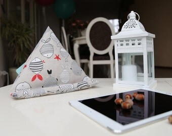 Scandinavian fishes iPad cushion - Tabllet/book stand - Gift idea