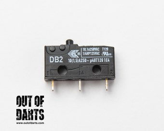 10A Microswitch (Cherry DB2 plunger)
