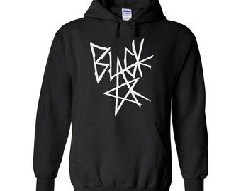 BLACK STAR Hoodie, Anime Hoodie, Anime Style, Casual Cosplay Anime, Baka Anime gift, Otaku Anime Gift, Geekery Gift, manga style, manga gift
