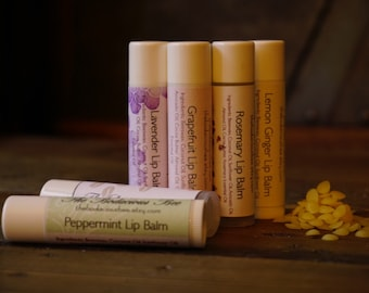 All Natural Lip Balm | Shea Butter Lip Balm, Lip Balm, Handmade Lip Balm, Lip Butter, Beeswax Lip Balm