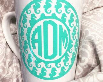 Customized Monogram Mug