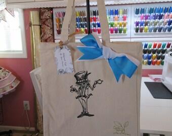 Shopping Tote Bag Wonderland Mad Hatter