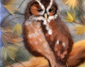 Owl Decor, Owl Painting, Owl Lover Gift, Owl Wall Art, Owl Home Decor, Owl Teacher Gift, Owl Art, Bird Painting, Bird Wall Decor, Bird Art