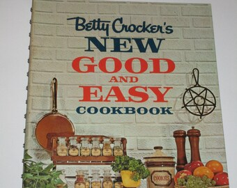Betty Crocker's New Good and Easy Cookbook 1962 vintage