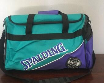 Vintage Spalding Duffle Bag