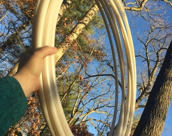 """MoonPearl 5/8"""" Bare Polypro Performance Hoop **Grip Tape Included**"""