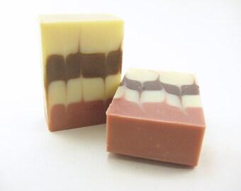 Steal Away Soap, Homemade Soap, Natural Soap, Coconut Oil, Cold Process, essential oils, lemon, rosemary, eucalyptus, cinnamon, clove