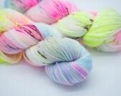 Shibuya Hand Dyed Yarn Super Soft Sock  80 Sw Merino 10 Cashmere 10 Nylon 350m 100g