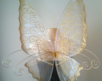 Curly Faerie wings for adults for fancy dress, weddings, halloween and events