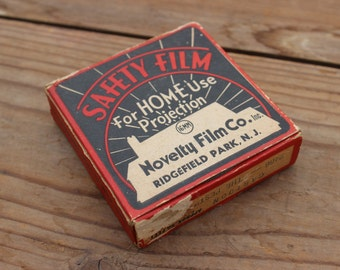 Vintage 1920's 16mm Projector Movie Film