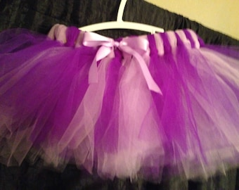 Dark and light purple tutu