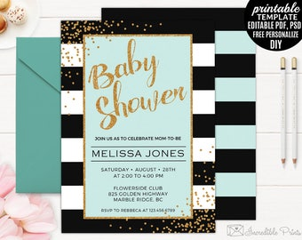 Babyparty laden | Etsy