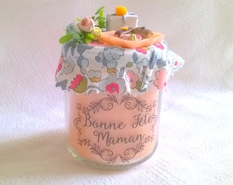 Candle color peach, liberty, miniature cakes