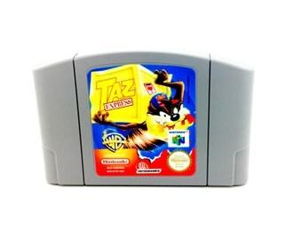 Taz Express N64 Game - Unreleased US version - N64 Repro nintendo 64