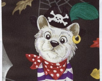 Happy Howl-o-ween by Hoffman Fabrics  Fabric by the Yard J4082-128