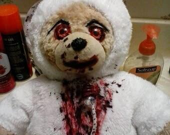 Easter Horror Teddy - ooak