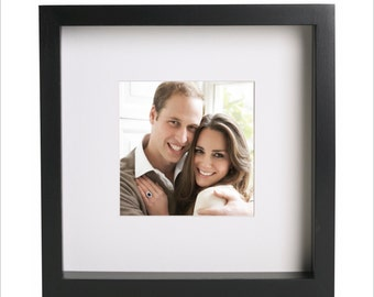 Prince William and Kate Middleton photo print | Use in IKEA Ribba frame | Looks great framed for gift | Free Shipping | #1