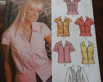 Simplicity 5194 Women's Blouses Sewing Pattern
