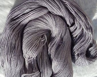 Light Silver Grey SW Merino Silk HT Single