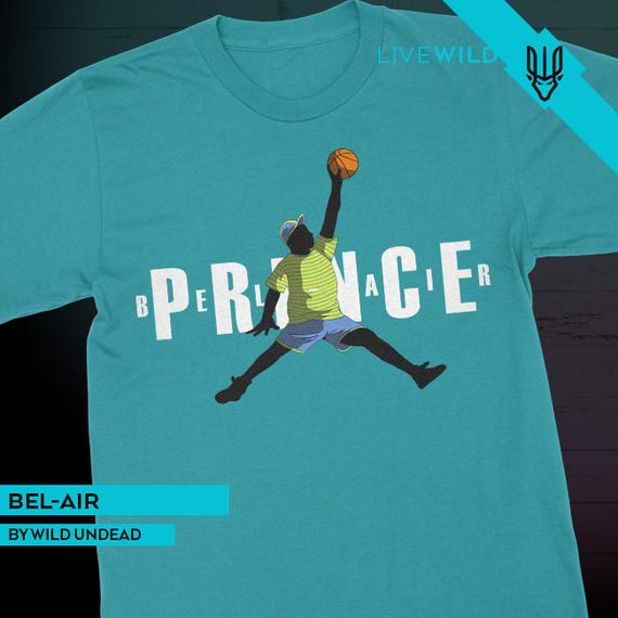 fresh prince of bel air jordans shirt