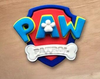 Paw Patrol Fondant Topper