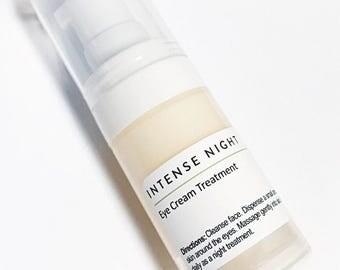 INTENSE NIGHT: Eye Cream with Retinol. Matrixyl 3000. CoQ10. Tripeptide-5. Eye Treatment. Eye Serum. Anti-aging. Moisturizer.