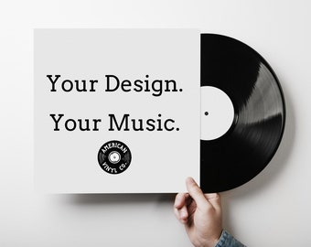 "Custom 12"" Vinyl Record with YOUR audio!"
