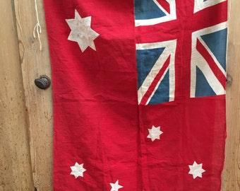 Vintage british made Union Jack flag