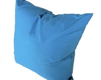 OUTDOOR/Indoor Pillow Cover, Blue.