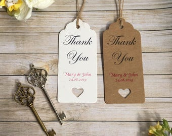 Thank you!  Beautiful and personalised vintage skeleton key wedding favour tags!!  Elegant, fun and fully customisable! (+ FREE SHIPPING!!)