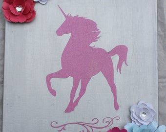 Unicorn Canvas