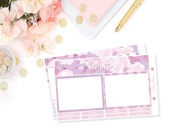 February Notes Kit (Lovely Lavender)