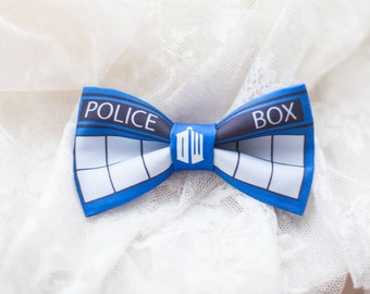 TARDIS The Doctor Who Bow-Tie