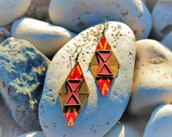 Diamond Earrings ethnic