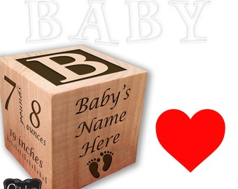 Wooden Blocks, Baby Blocks, Wooden Toys, Baby Toys, Decorative Blocks, Nursery Decor, Personalized Baby Blocks, Custom Baby Blocks, Nursery