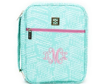 Printed Monogrammed Bible Cover/Planner Cover/Protector