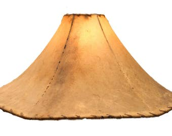 Attractive RawHide / Leather Lamp Shade 24 Inch