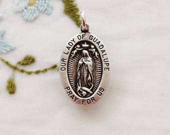 Our LADY OF GUADALUPE Medal Pendant