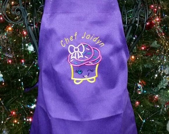 Children's cupcake apron