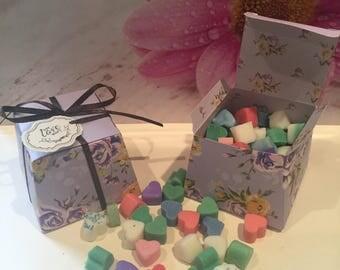 Jo Malone Inspired Perfume Fragranced Soy Wax Melts - Gift Box