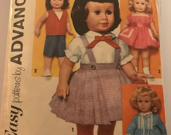 Original Chatty Cathy doll sewing pattern # 2897