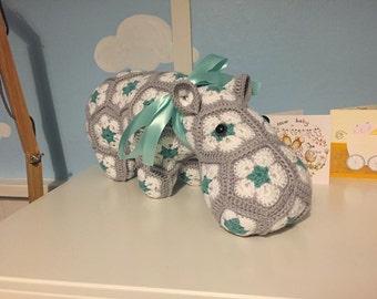Crochet Hippo Hippopotamus