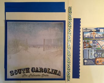 South Carolina Scrapbooking Kit