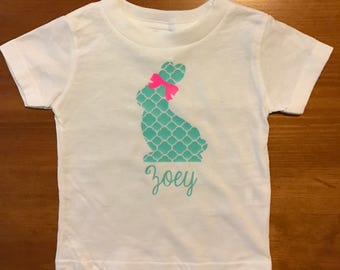 Children's Personalized Easter Shirt