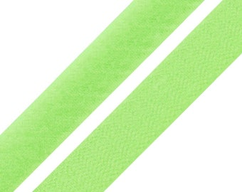 2 Velcro 20 cm Velcro and Velcro yellow-green